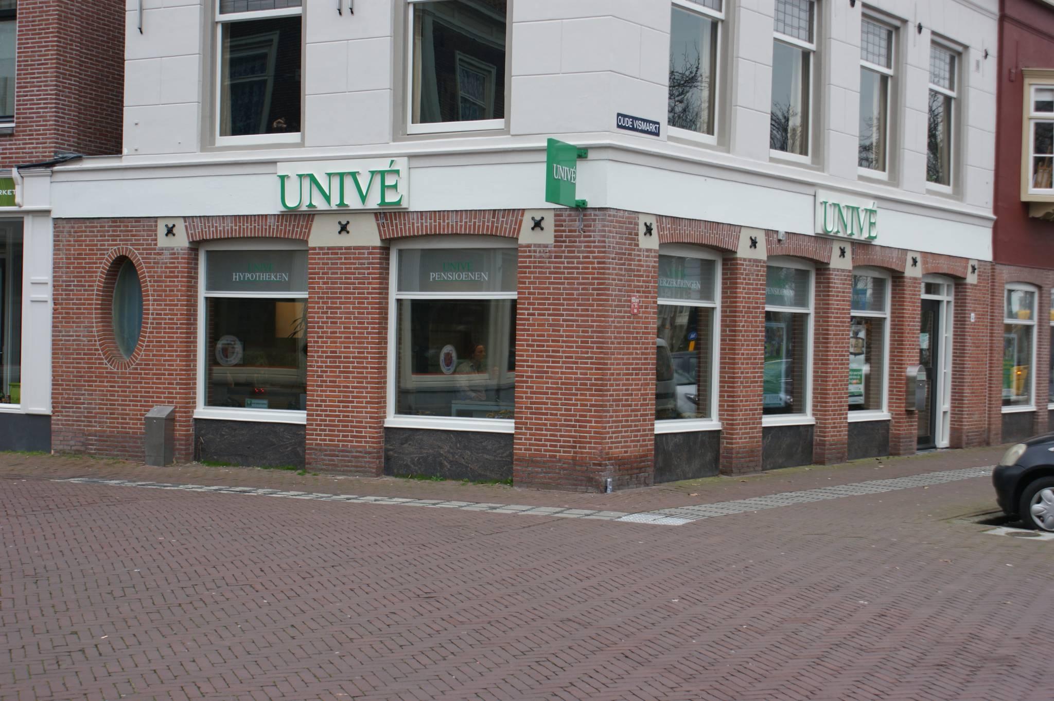 Univé vestiging Oude Vismarkt 4 – Purmerend